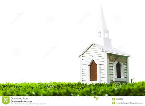 wedding chapel  white background stock image image