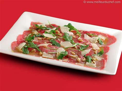 cuisine ustensile carpaccio de bœuf fiche recette illustrée