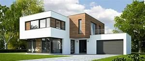 plan maison cubique toit plat 1 la maison cube une With photo maison cube moderne