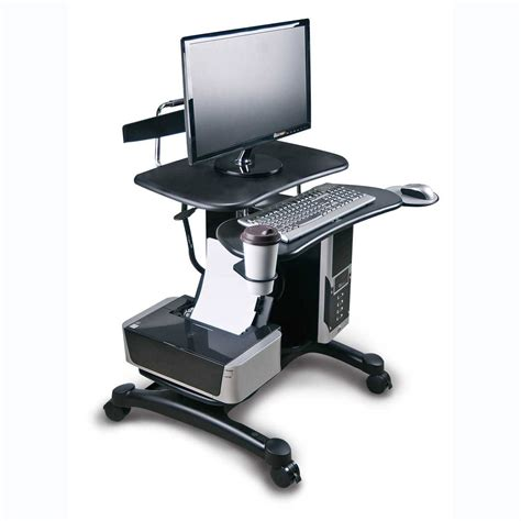 Mobile Computer Workstation by Mobile Computer Workstation In Computer And Laptop Carts