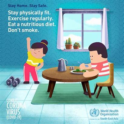 Stay Healthy Coronavirus Covid Safe Mask Measures