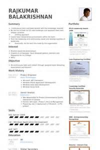 curriculum vitae project engineer project engineer resume sles visualcv resume sles