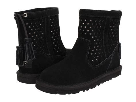 Black Boots : New Kids Girls Ugg Australia Boot Kaelou Black 1006648