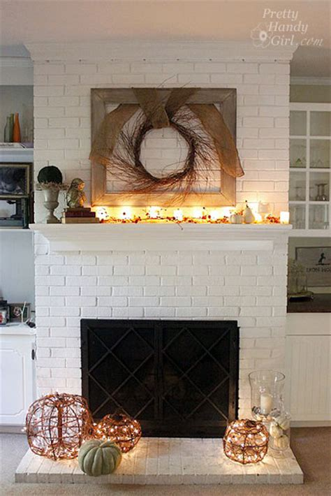 white brick fireplace faux painting brick archives pretty handy