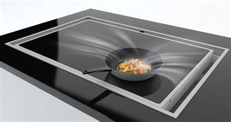 hotte cuisine bosch la hotte sous la plaque de cuisson inspiration cuisine
