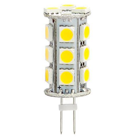 g4 jc ac dc 3 5w 12 volt to 24 volt led capsule light