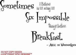 Alice In Wonderland Quotes Posters. QuotesGram