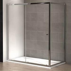 Paroi De Douche 160 : paroi de douche slide 180 x 90 cm thalassor ~ Edinachiropracticcenter.com Idées de Décoration