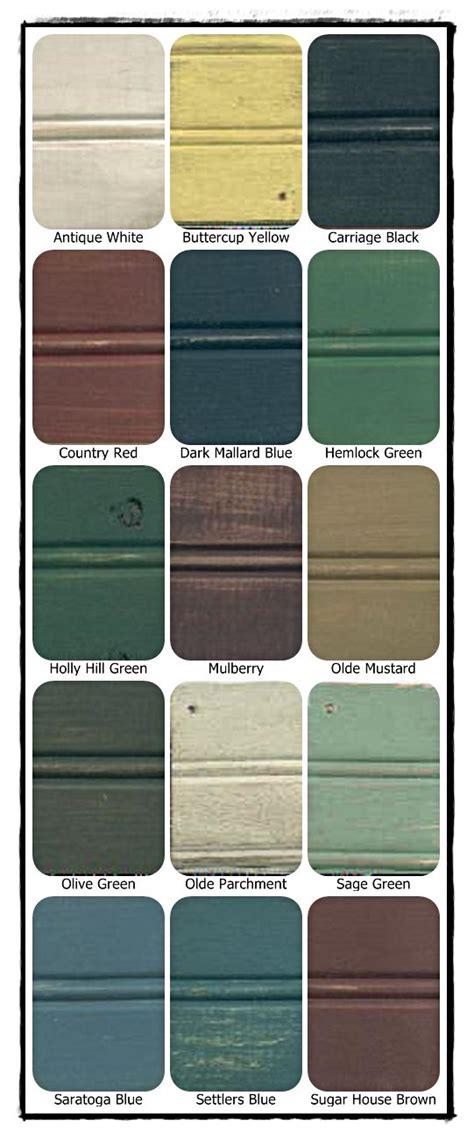 primitive paint colors pinteres