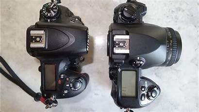 Nikon F6 D750 Camera Left Right Substance