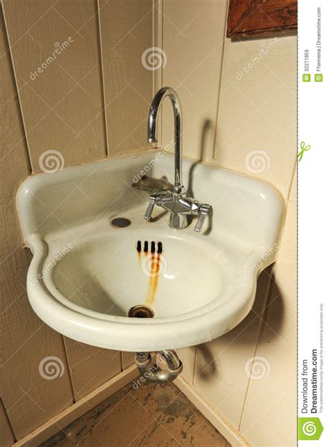 kitchen sink shower sink with basin in corner stock image image 5937