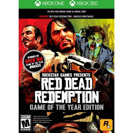 d day xbox 360 games dead redemption of the year edition rockstar xbox one 360 710425490071