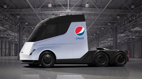 pepsi places  biggest tesla electric trucks order