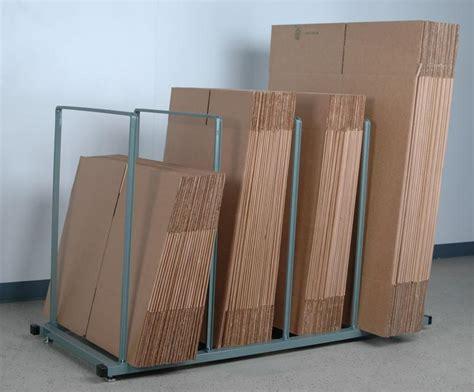 stackbin shelving carts vertical carton storage stand