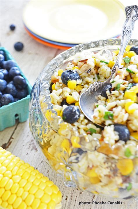 corn and blueberry salad corn and blueberry salad gf vegan phoebe s pure food