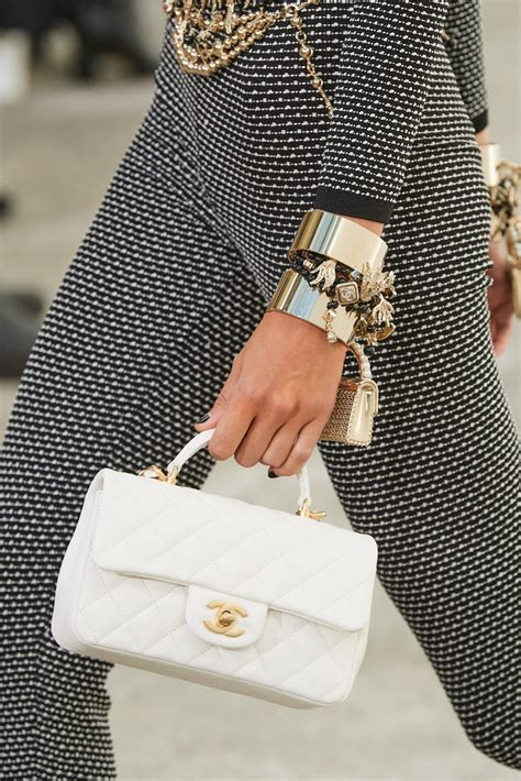 chanel springsummer  runway bag collection featuring super tiny bags spotted fashion