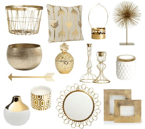 gold home decor gold home accessories mesirci