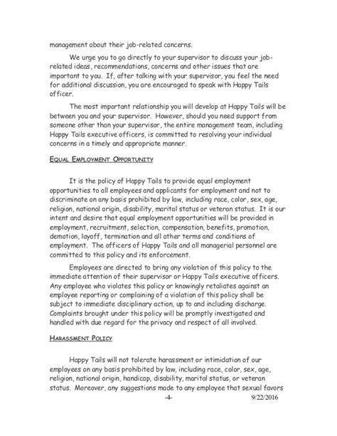 Employee Handbook New