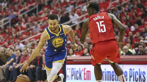 nba playoffs  warriors  rockets series schedule