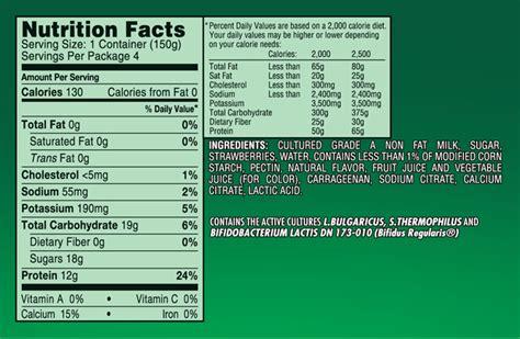 activia peach yogurt nutrition label besto blog
