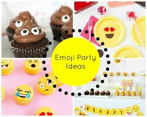 Share Your Emotions With These Emoji Party Ideas - Little