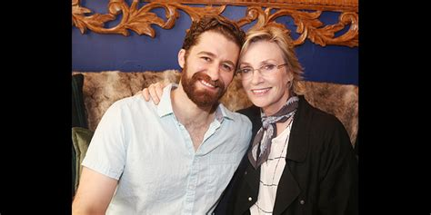 Glee Reunion! Jane Lynch Cheers on Matthew Morrison in ...