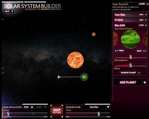 Create your own solar system - Superdecade Games