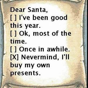 dear santa With naughty dear santa letters