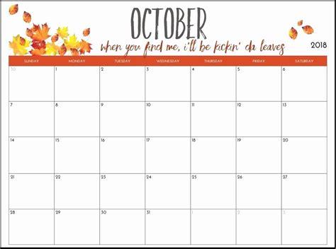 2015 Calendar Template With Holidays Printable Calendar 2018 10 October 2018 Printable Calendar Template