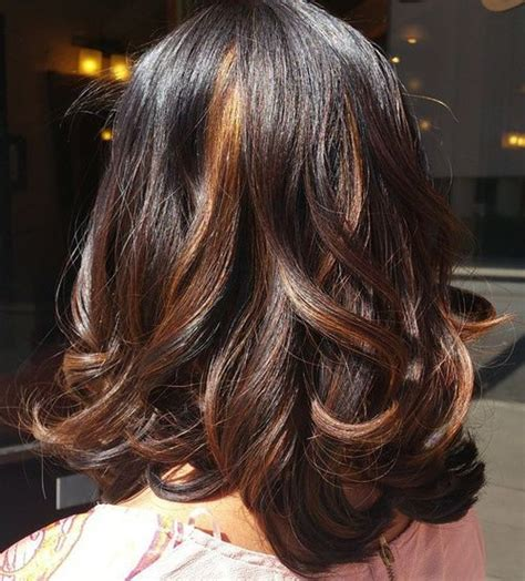 With Highlights Hairstyles by The Best Hair Style 2016 20 Pretty Ideas Of Peek A Boo