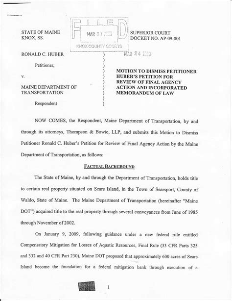 Best Photos Of Court Motion To Dismiss Template  Example Motion To Dismiss For Lack Of