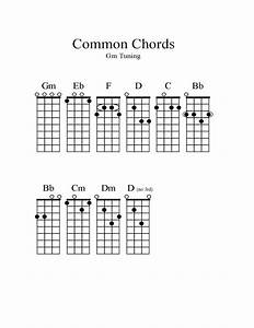 Paper Tuning Chart Common Chords Free Download