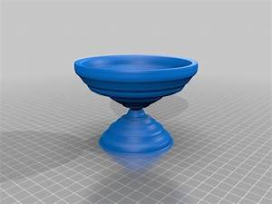 3d Printed Bird Bath Resize To Make The Right Size By