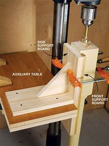 Vertical Drilling Jig - Popular Woodworking Magazine