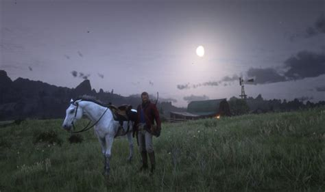 dead redemption horse rdr2 arabian certainly win heart game mirror graphics gaming environments finding express story