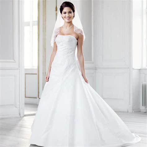 robe de mari 233 e blanche en taffetas et broderies alima
