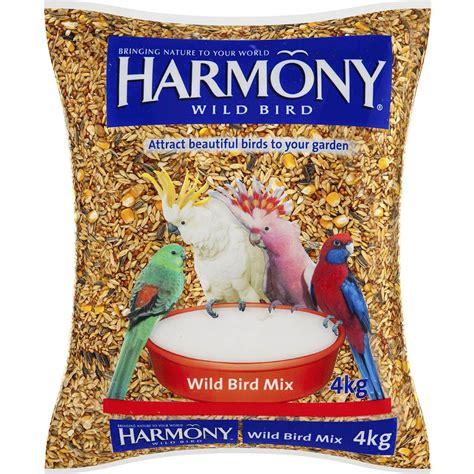 harmony bird food wild bird mix 4kg woolworths