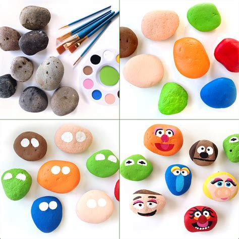 steine bemalen mit acrylfarbe 1001 kreative und leichte ideen zum steine bemalen