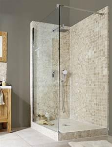 Salle De Bain Italienne Leroy Merlin : salle de bain douche italienne idees images ~ Melissatoandfro.com Idées de Décoration