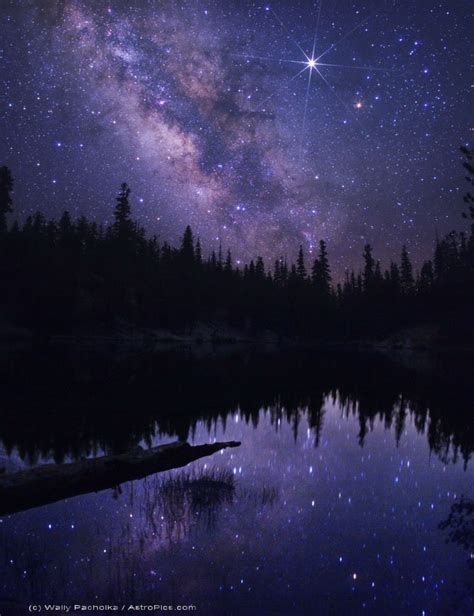 Mammoth Starkweather Lake With Milky Way And Jupiter