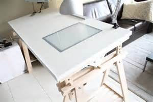 Ikea Drafting Table With Lightbox by 10 Ikea Standing Desk Hacks With Ergonomic Appeal