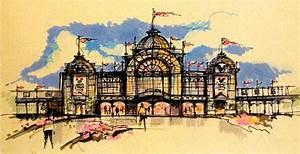 Art Concept Paris : crystal palace disneyland paris never built walt ~ Premium-room.com Idées de Décoration