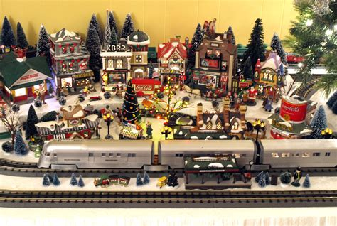 department 56 christmas train layout flickr photo sharing