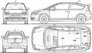ds4 dimensions the vector drawing citroen ds4 citroen With citroen grand c4 pico interior