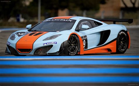 Mclaren Mp4-12c Gt3 2012 Widescreen Exotic Car Pictures