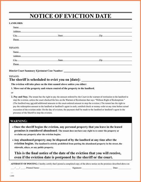 copy   eviction notice notice letter