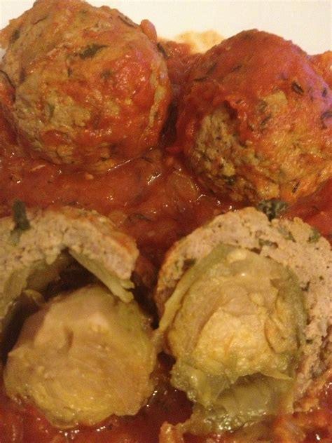 cuisine viande boulettes de viande farcies aux choux de bruxelle blogs