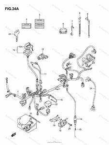Suzuki Atv 2005 Oem Parts Diagram For Wiring Harness
