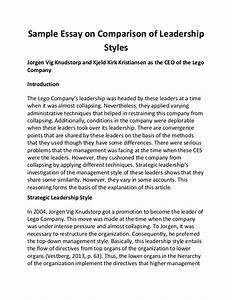 Abraham Lincoln Essay Paper My Leadership Style Sample Essay Format Examples Of Persuasive Essays For High School also Wonder Of Science Essay My Leadership Style Essay Law Essay Writing Service Uk My Leadership  Essay Paper Help