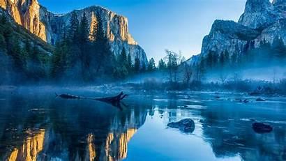 5k Winter Forest Wallpapers Apple Yosemite El